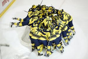 Michigan Hockey team