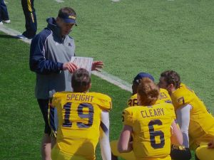 Coach Nuss and his QB's