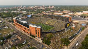 9/7/13 Aerial photos of Michigan vs. Notre Dame