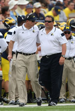 Doug Nussmeier and Brady Hoke