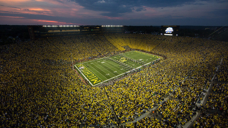 michigan wolverine football penn state at michigan
