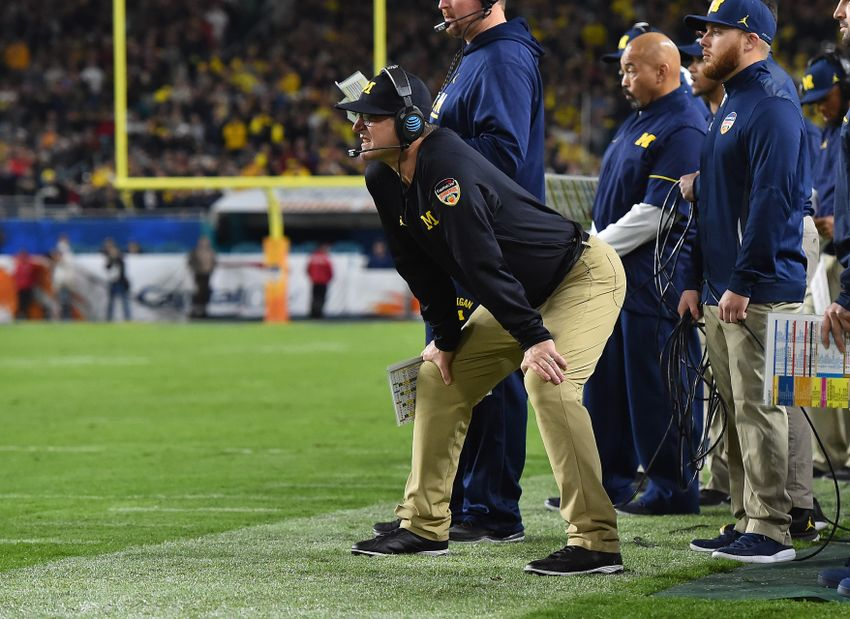 Michigan DB Peppers won't play in Orange Bowl
