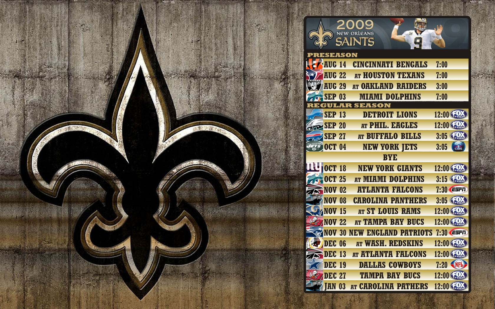 New Orleans Saints News, Scores, Status, Schedule - …