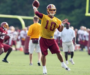 Chase Daniel at Redskins rookie mini-camp