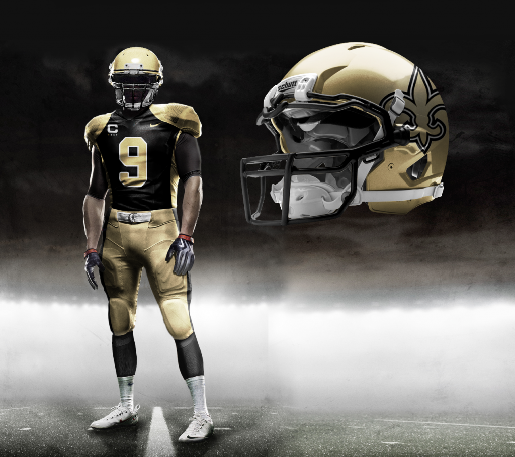 """New Orleans Saints New """"Nike"""" Uniforms Real Or Fake?"""