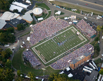 Fawcett Stadium Home of the Hall of Fame Game
