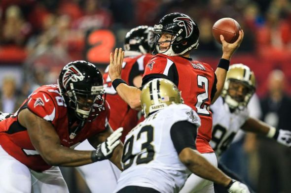 new orleans saints atlanta falcons