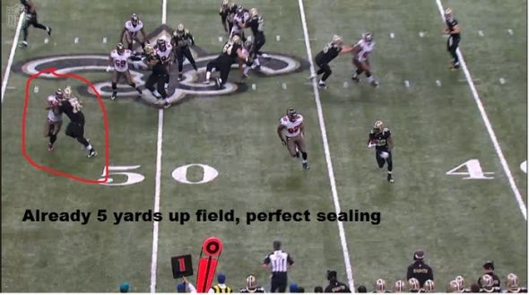 "Screen Cap photo courtesy of Saints and NFL analyst Walter ""Deuce"" Windham"