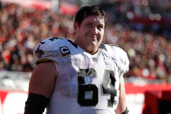 Zach Strief New Orleans Saints