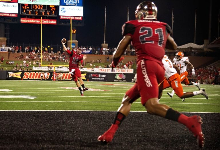 Hilltoppers WR Jared Dangerfield Gets No Respect