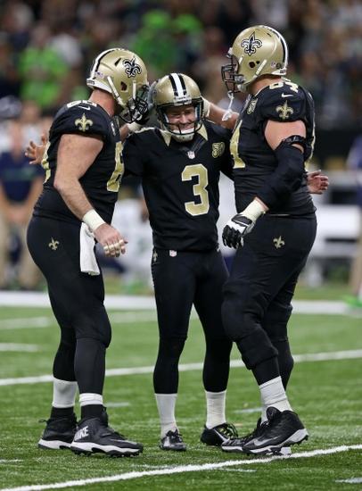 25 30 Seattle: New Orleans Saints: Rookie Kicker Wil Lutz Shines In Win