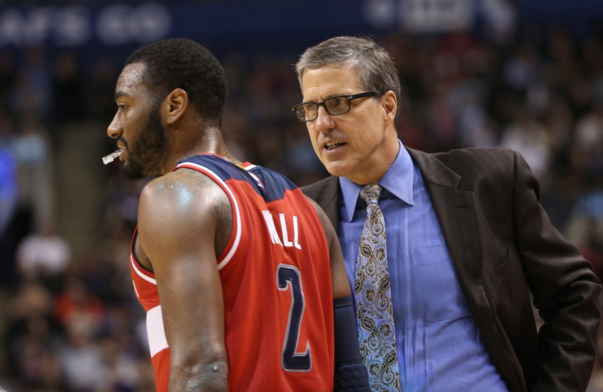 John-wall-randy-wittman-nba-washington-wizards-toronto-raptors