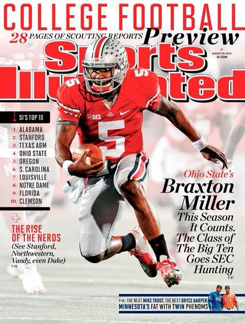 is there any college football games on tonight sports illustrated football