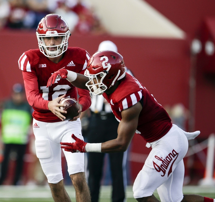Quarterback rotation helps Hoosiers get ground game on track