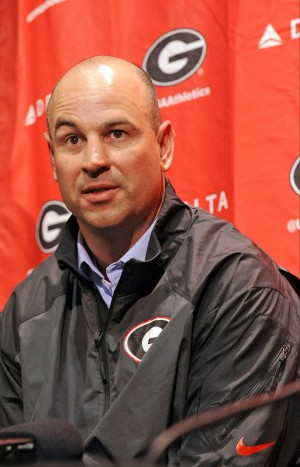 Jeremy Pruitt introduced as Georgia's new defensive coordinator, photo by John Kelley