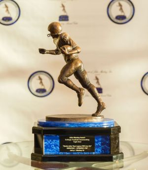 The John Mackey Award Trophy