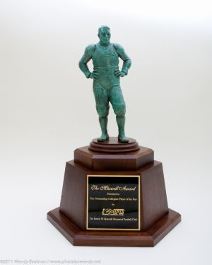 The Maxwell Award trophy