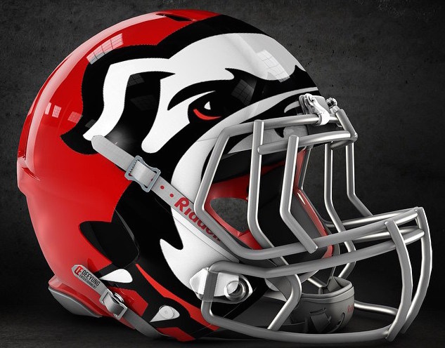 Mock-up concept Georgia football helmet is bold, but is it ...