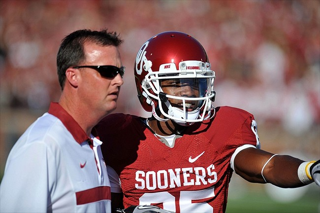 Cale Gundy helped recruit Samaje Perine