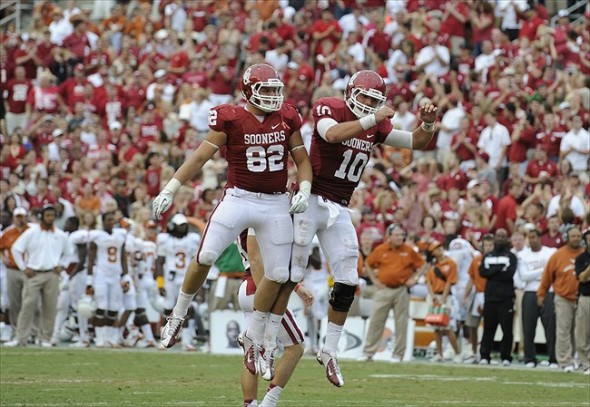 Oklahoma Sooners tight ends