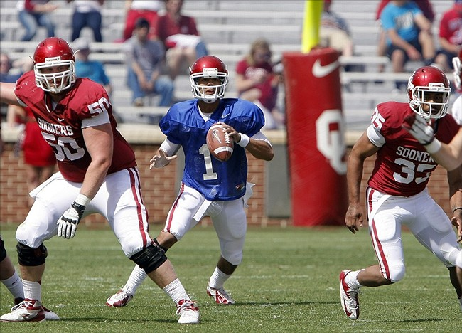 Sooners Quarterback Arrested