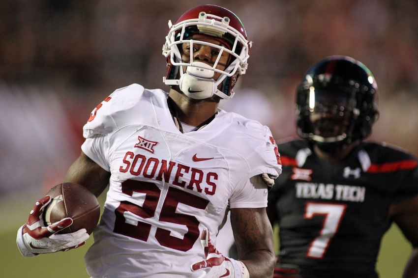 Sooner RB Joe Mixon suspended for Iowa State game
