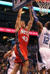 Kris Humphries, Dwight Howard