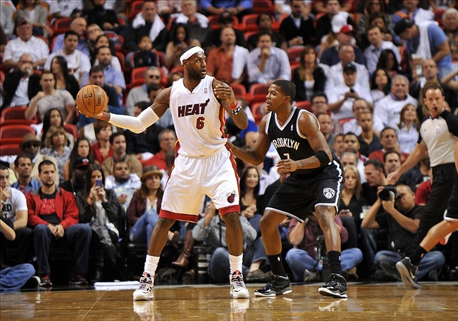 Brooklyn Nets, Joe Johnson, LeBron James