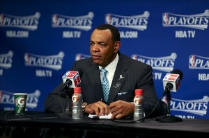 Brooklyn Nets' new head coach, Lionel Hollins