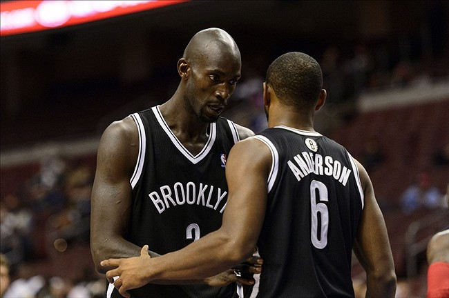 Brooklyn Nets, Kevin Garnett