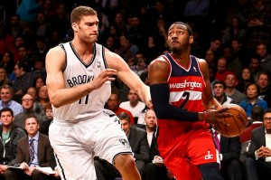 Brook Lopez and John Wall