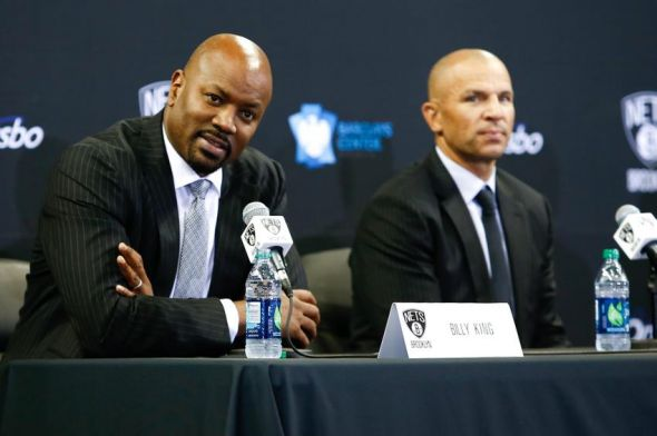 GM Billy King and Coach Jason Kidd will try to find a needle in a haystack. Mandatory Credit: Debby Wong-USA TODAY Sports