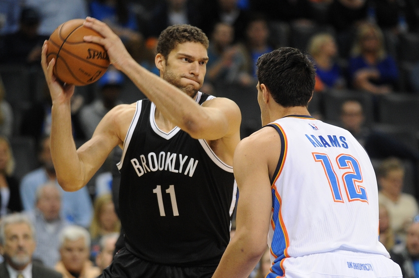 Westbrook's triple-double leads Thunder past Nets 124-105