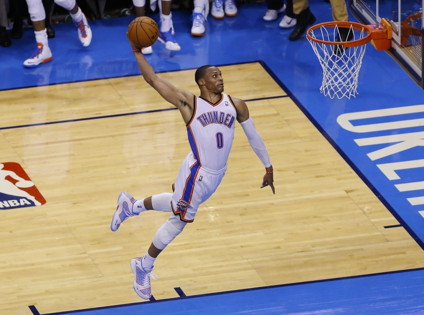 Russell Westbrook: Top Ten Dunks of His Career