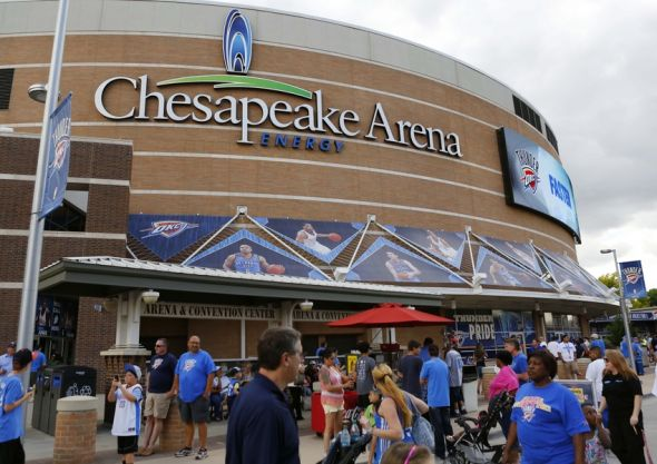 A Young OKC Thunder Fan's Chronicles of His First Time in ...
