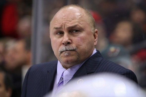 Central Division veteran coach Barry Trotz
