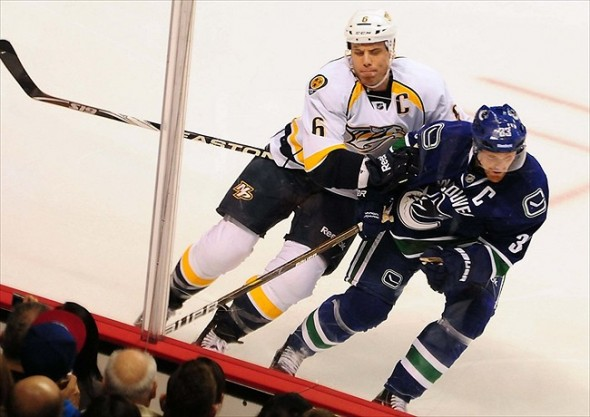 The early Nashville Predators schedule for 2013 will test the team on the road.