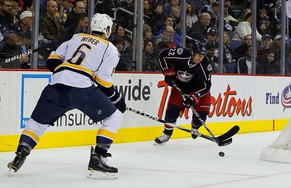 Columbus Blue Jackets visit the Nashville Predators