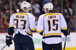 If Wilson and Smith hook up early in the Nashville Predators schedule, good things can happen