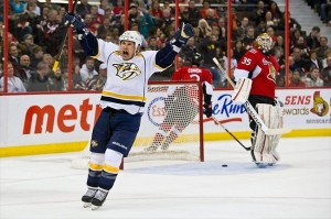 The Nashville Predators schedule gets interesting when Jordin Tootoo returns to town.