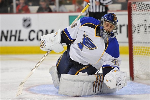 Halak and Brian Elliott helped St. Louis win the Central Division last year