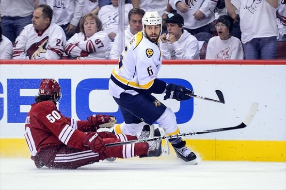Shea Weber is the heart and soul of the Nashville Predators 2013 roster.