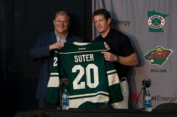 Former Nashville Predators defenseman Ryan Suter