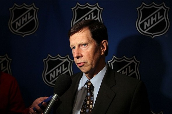 Nashville Predators general manager David Poile