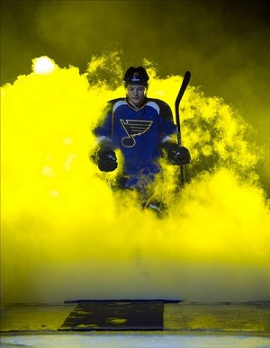 Vladimir Tarasenko faces his third Central Division opponent tonight