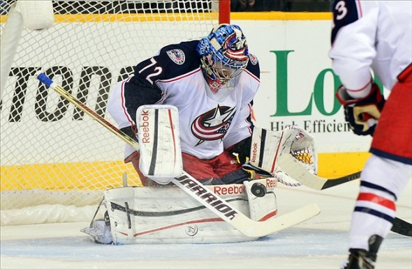Good night for Sergei Bobrovsky in Nashville