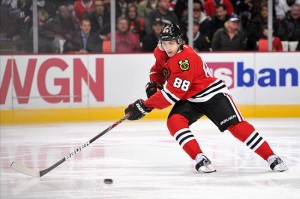 Central Division forward Patrick Kane of the Chicago Blackhawks