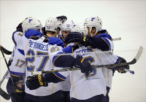 Defending Central Division champs, the St. Louis Blues