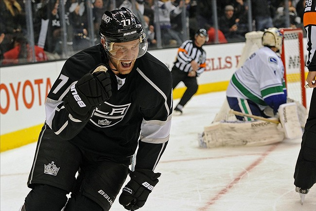 Jeff Carter faces the Nashville Predators tonight