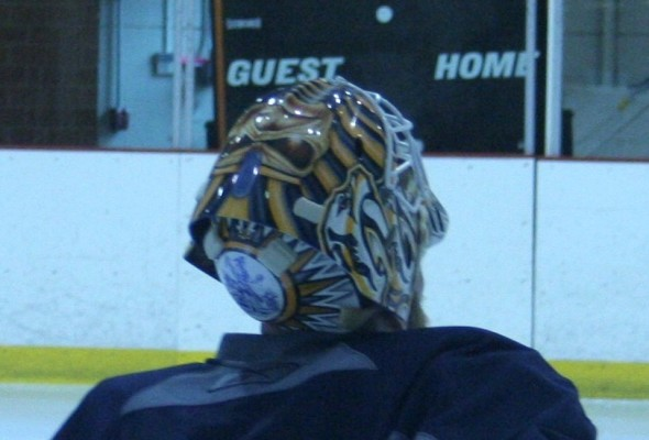 Chris Mason at Nashville Predators Training Camp